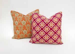 Color Throw Pillow Elizabeth Andersen