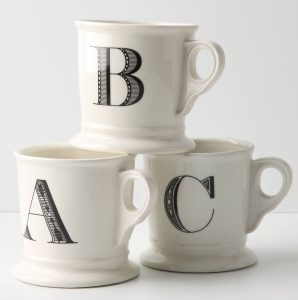 Monogram Mug Anthropologie The Circular Home
