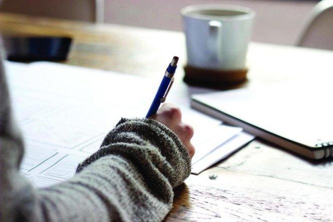 Modern Domestic Woman Bullet Journaling